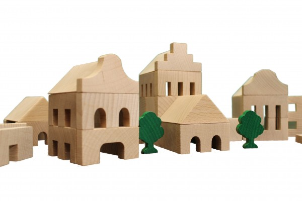 Architekturbaukasten Nr. 1