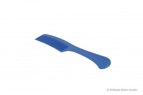 Griffkamm, pastell-blau