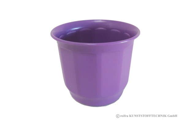 Blumenübertopf  15 cm, violett