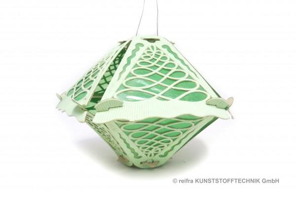 Klapplaterne 5-teilig grün, 28 x 22 cm, grüner Hin
