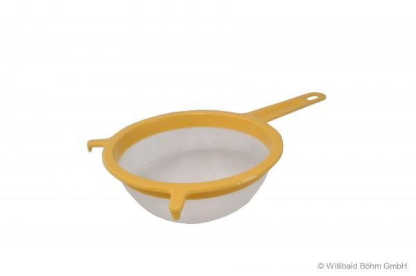 Passiersieb 16 cm, pastell-gelb