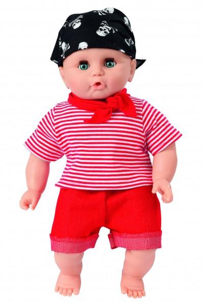 Babypuppe, 32 cm (Pirat)