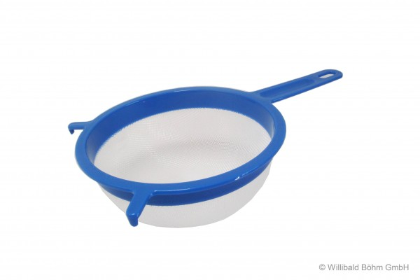 Passiersieb 18 cm, pastell-blau