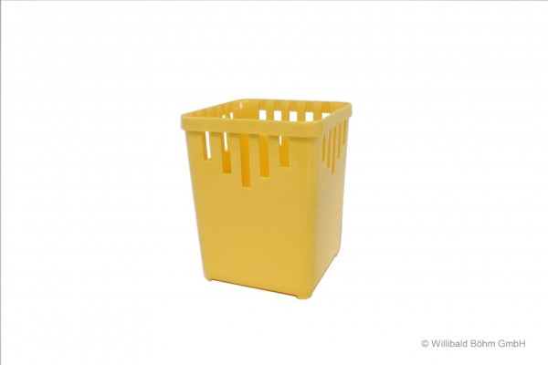 Bestecktrockner, 1-teilig, pastell-gelb