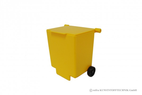 Mülltonne In Gelb Zubehör Fahrzeuge Spielwaren Aus Eigener