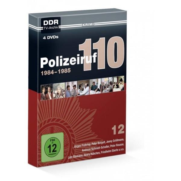 Polizeiruf 110, Box 12 1984 - 1985