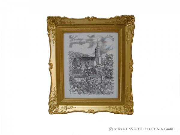 bilderrahmen antik gold motiv st annenkirche sonderaktion online shop reifra. Black Bedroom Furniture Sets. Home Design Ideas