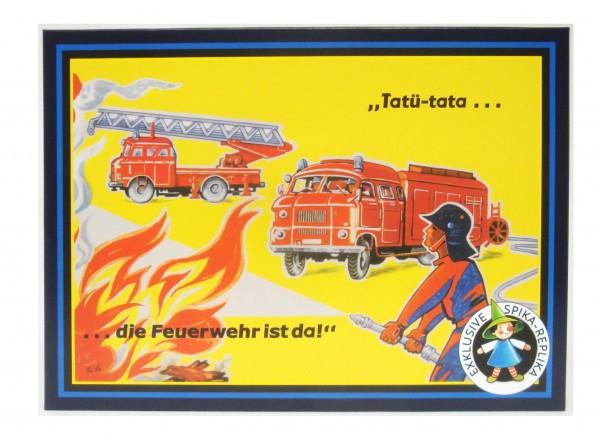 Würfelspiel - Tatü-tata...die Feuerwehr ist da!
