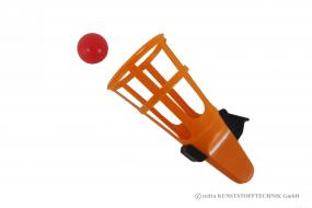 Korbfangspiel (gr. Bälle)