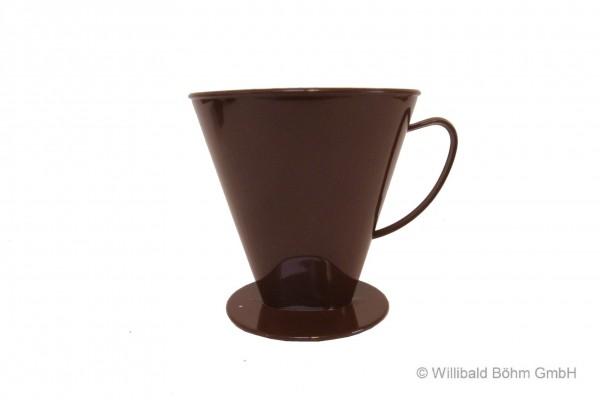 Kannenaufsatz, 8-12 Tassen, braun