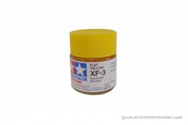 Farbe für Modellbau XF-3 gelb matt 23 ml