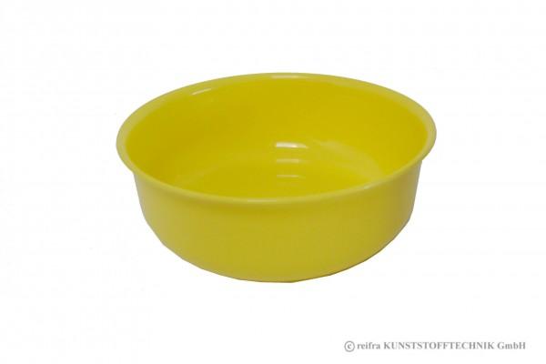 Schüssel 17 cm, gelb