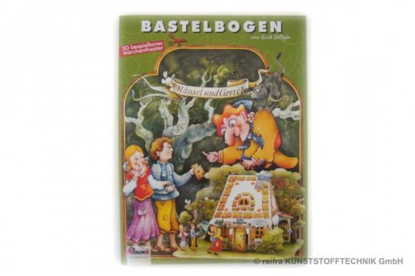 """Bastelbogen """"Hänsel & Gretel"""""""