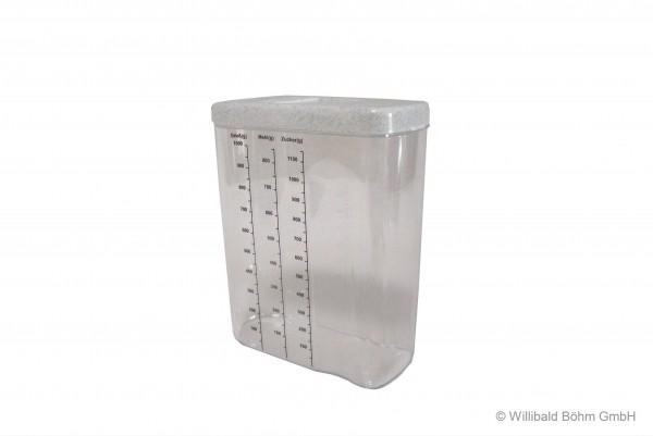 Schüttbox 1,4 l, mit Skala