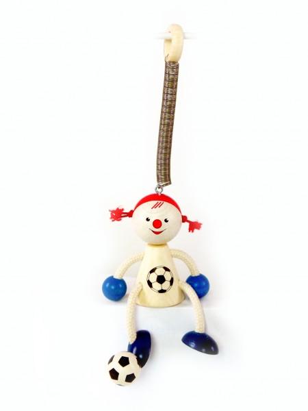 Schwingfigur Fußballmädchen