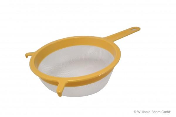 Passiersieb 18 cm, pastell-gelb