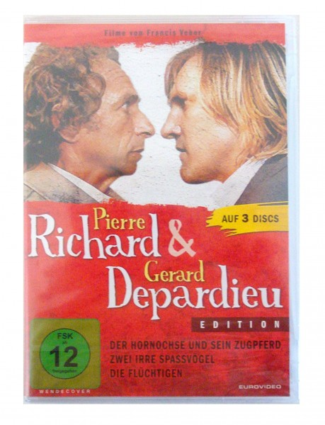 Pierre Richard & Gerard Depardieu Edition (3 DvD)