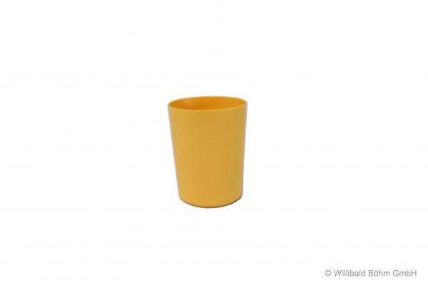Becher dünnwandig, 0,2 l, pastell-gelb