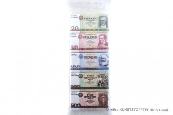 Minischokolade  DDR-Geld    50g  - Rotstern