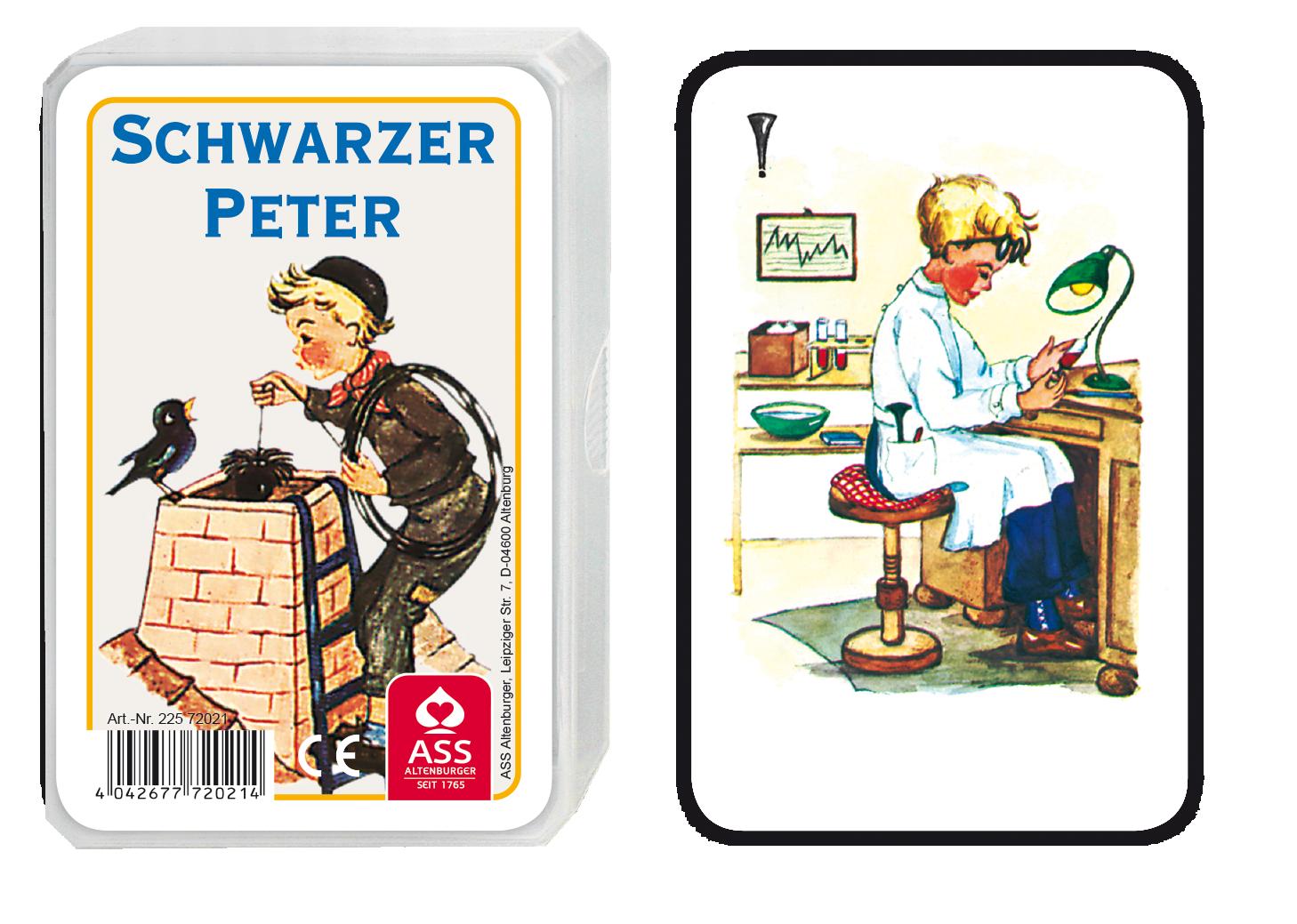 schwarzer peter kaminkehrer spielkarten weitere spielwaren online shop reifra. Black Bedroom Furniture Sets. Home Design Ideas