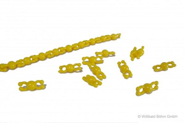 """Perlenkette """"Pia"""", gelb"""