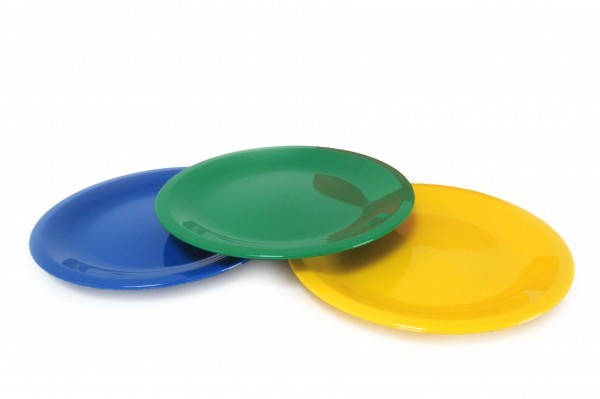 Dessertteller-Sonderfarbe - Kunststoff Sonja PLAST