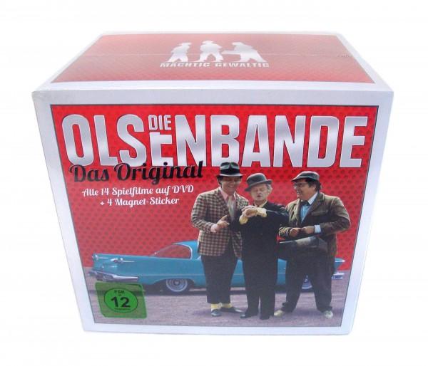 Die Olsenbande KomplettBox 14 Filme plus 4 Magnete