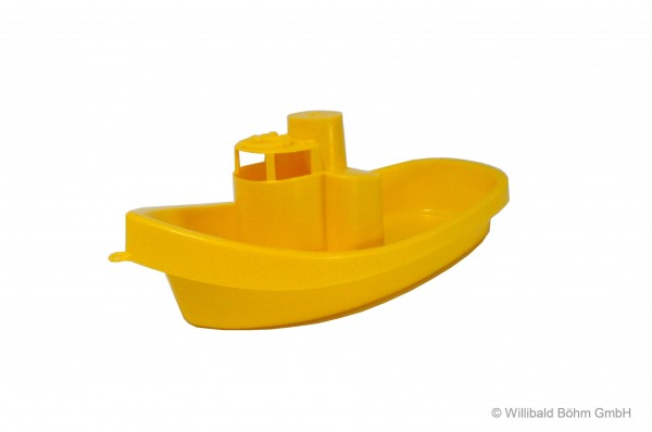 Schiff, gelb