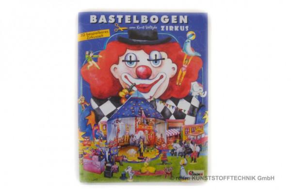 """Bastelbogen """"Zirkus"""""""