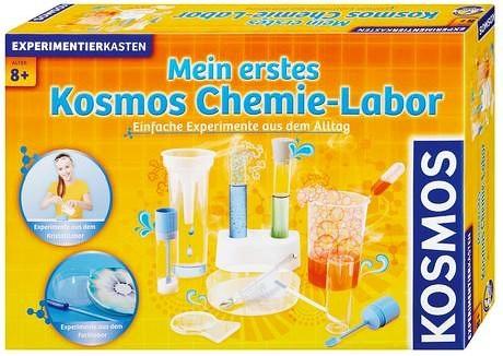 Experimentierkasten Mein erstes Chemielabor