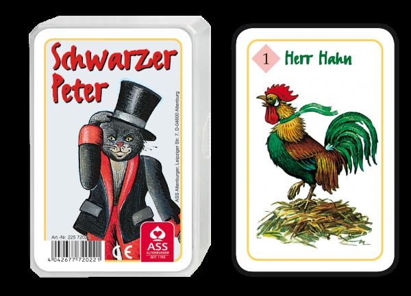 Schwarzer Peter - Kater Schnurr
