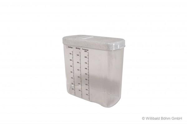 Schüttbox 1,0 l, mit Skala