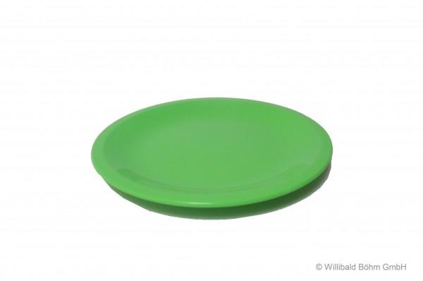 Teller, flach, pastell-hellgrün
