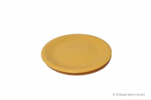 Dessertteller, pastell-gelb