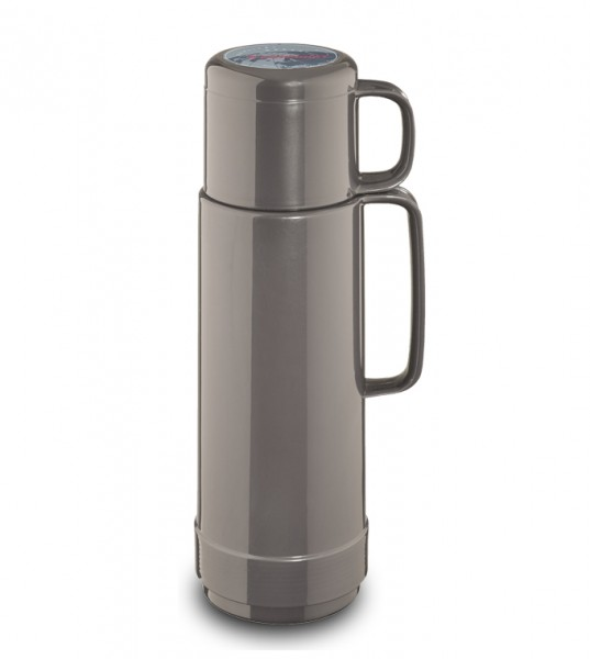 Isolierflasche 80,  0,75 L, silver light