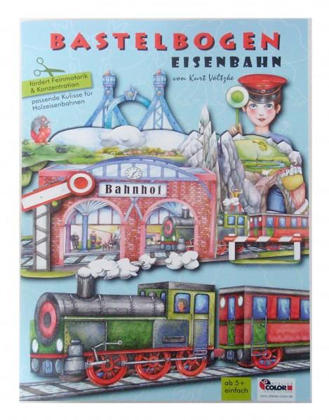 """Bastelbogen """"Eisenbahn"""""""