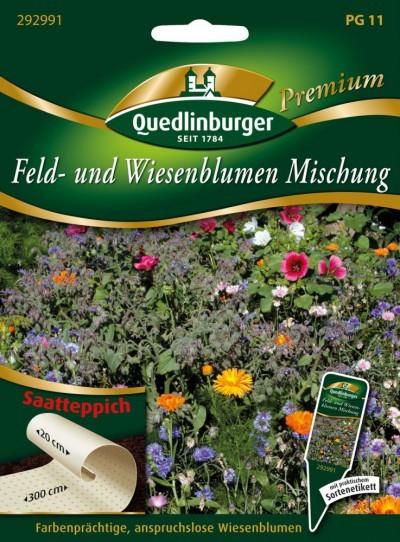 Feld-u. Wiesenblumenmischung von Quedlinburger Saa