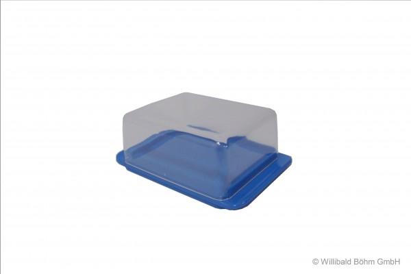 Butterdose, pastell-blau