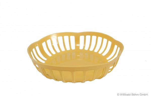 Brotkörbchen, pastell-gelb