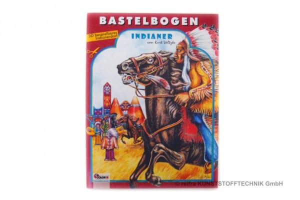 """Bastelbogen """"Indianer"""""""