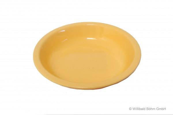 Teller, tief, pastell-gelb