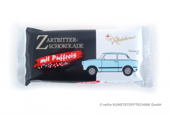 Trabbi Puffreis-Schokolade    40g  - Rotstern