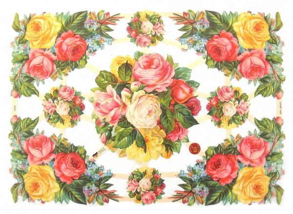 Glanzbilder, Rosensträuße II