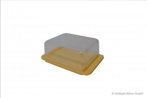 Butterdose, pastell-gelb