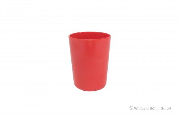 Becher dickwandig, 0,2 l, Rot