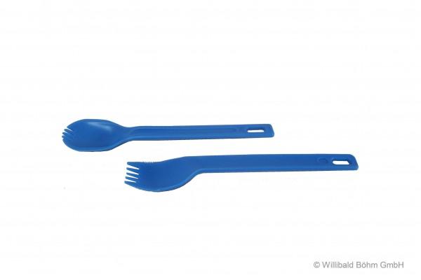 Einhandbesteck, Farbe: pastell-blau