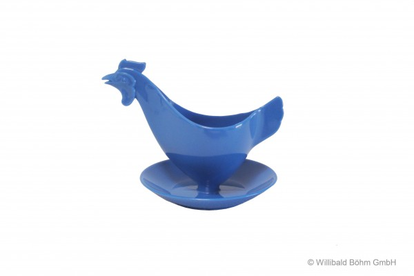 """Eierbecher """"Huhn"""" pastell-blau"""