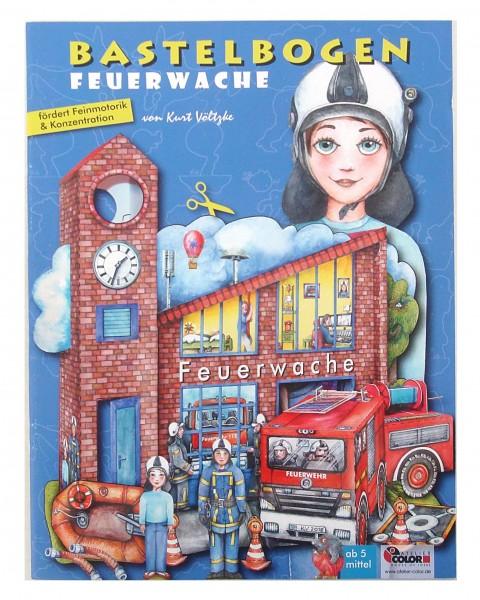 """Bastelbogen """"Feuerwache"""""""
