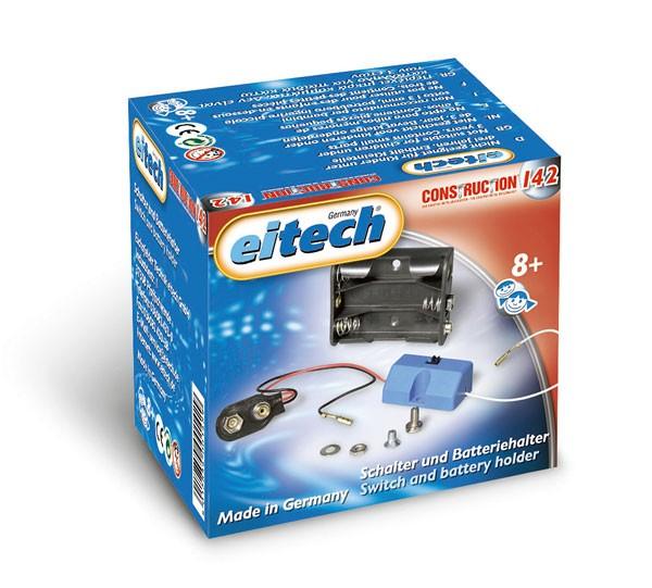 Schalter + Batteriehalter 1-4,5 V