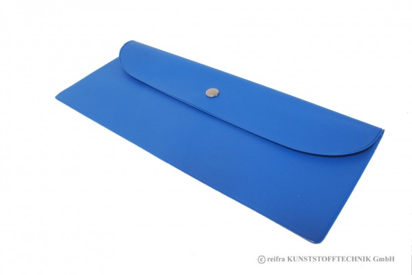 Bestecktasche blau